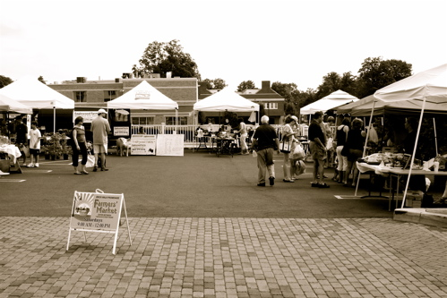 Our local farmer's market